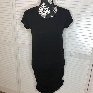Athleta Topanga Tee Ruched Dress Small